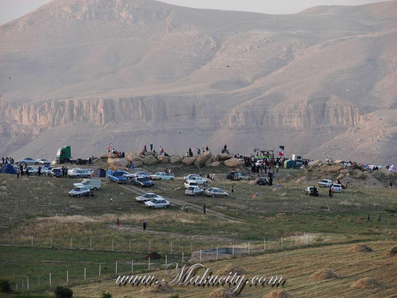 جشنواره بادبادکها در ارتفاعات قره خاچ ماکو